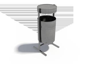 Урна круглая металлическая УКМ-2
